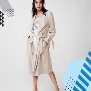 New Express Trench Coat Soft Drape